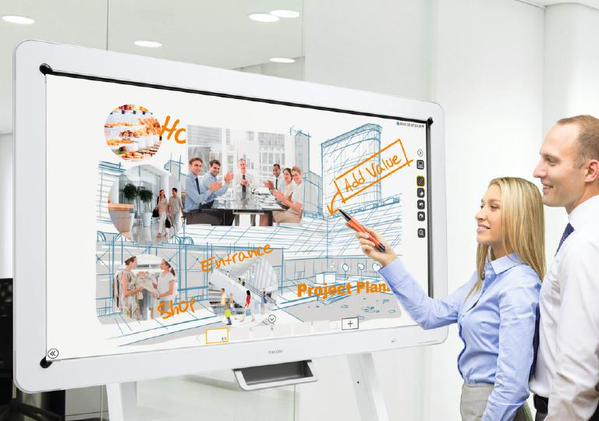 Ricoh introduces Interactive Whiteboard