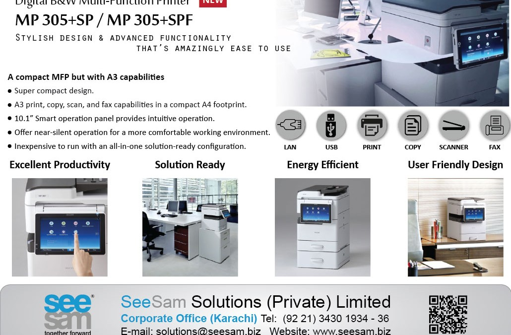 The NEW Multi-function Printers
